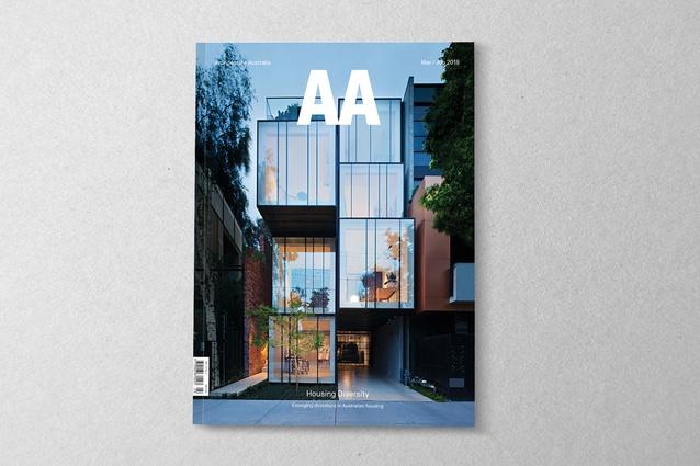 <i>Architecture Australia</i> May/June 2018.