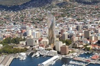 Proposed Hobart skyscraper soars to 180 metres in updated designs