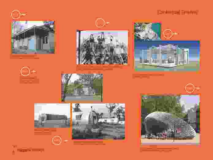 Flatpack Pavilion – Zanny Begg, Chris Fox, Helen Lochhead and John Choi.