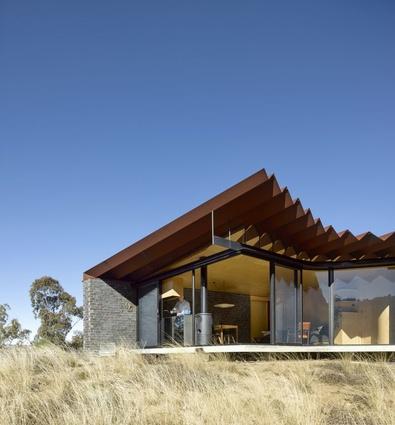 Steendijk's Bellbird Retreat in rural Queensland, winner in the residential category.