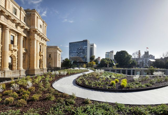 Parliament of Victoria Members' Annexe Building by Peter Elliott Architecture and Urban Design and TCL.