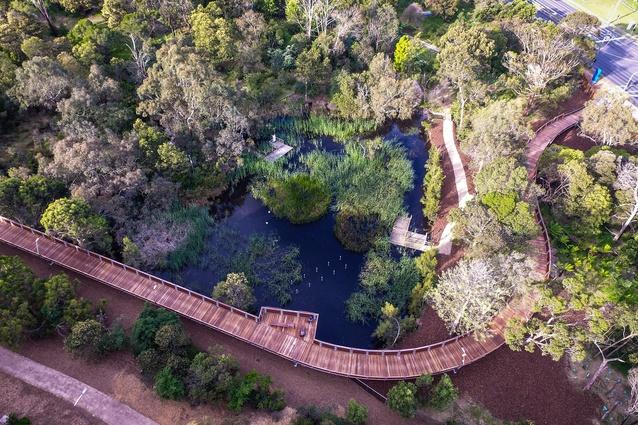 Jock Marshall Nature Reserve Walk by Urban Initiatives.
