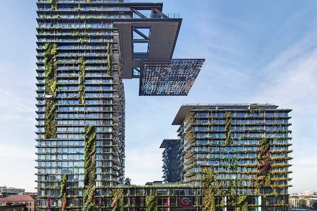One Central Park by Atelier Jean Nouvel with PTW Architects.