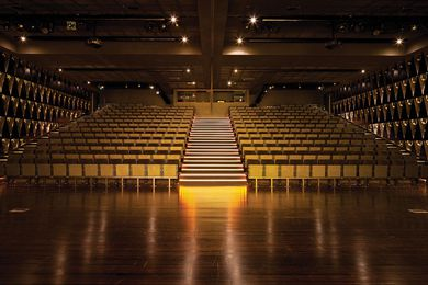 Nudgee College Tierney Auditorium by m3architecture.