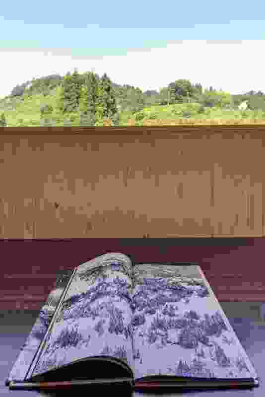 Summer mountain and winter book of illustrations of the region.