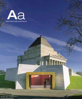 Architecture Australia, September 2003