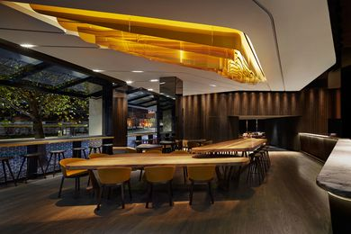 Collins Hotel by Woods Bagot.