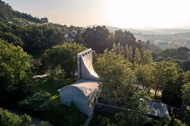 Chapel and Meditation Room in Portugal by Studio Nicholas Burns.