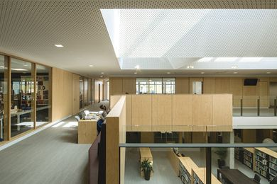 Mandeville Centre's thoughtful scheme comprises robust materials and light-filled spaces.