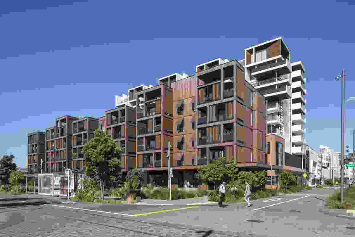 Finalist: Housing Multi-unit – Wynyard Central East 2 by Architectus.