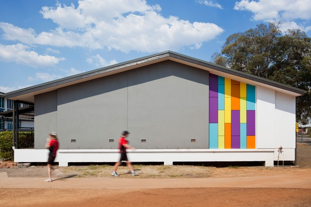 Public Commendation: Our Lady of the Southern Cross College Technology Sciences + Art Centres by Fulton Trotter Architects.