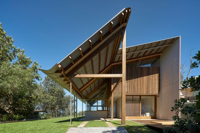 Foredune House by Peter Stutchbury Architecture.