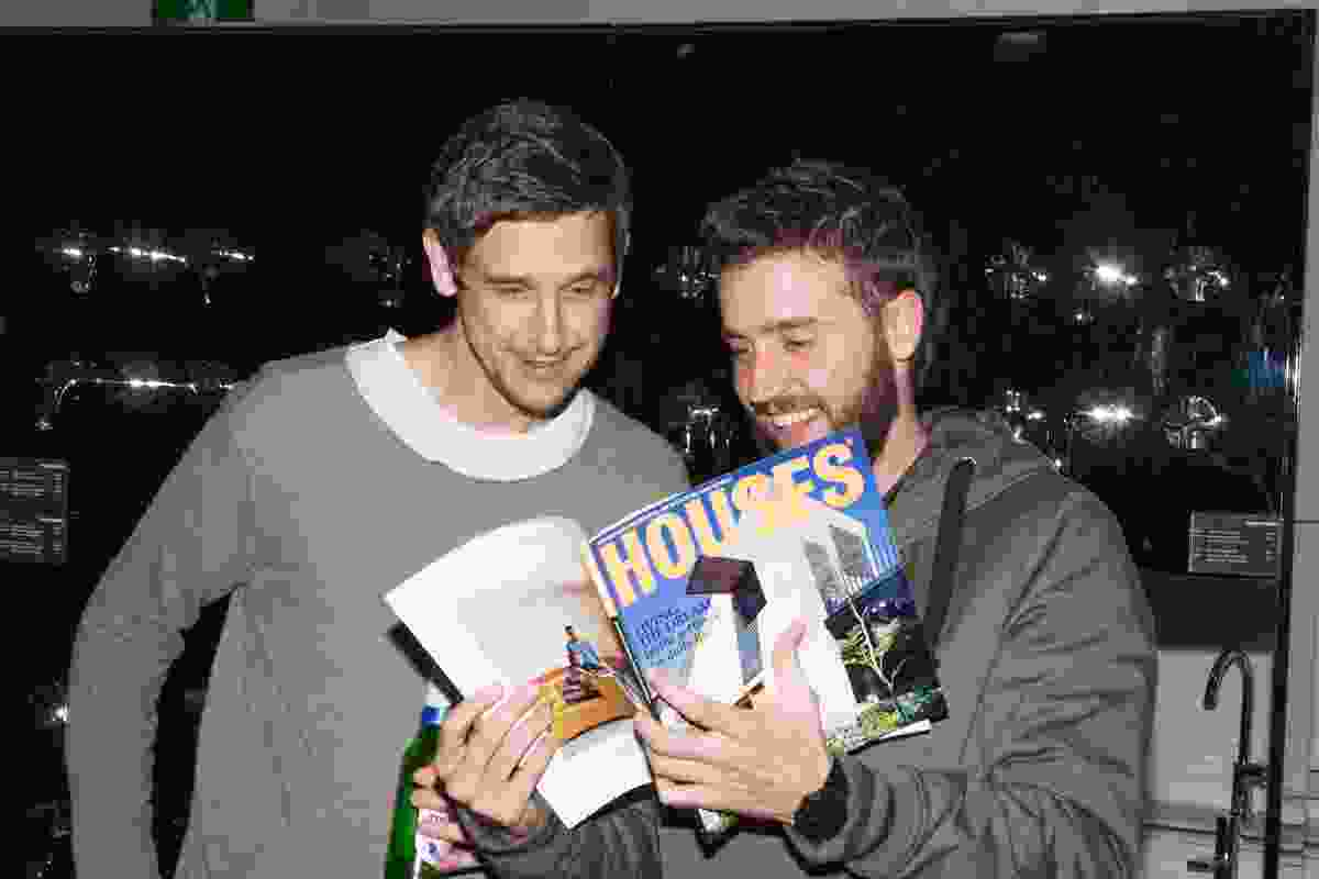 Guests enjoying the 100th issues of Houses magazine.