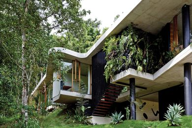 Planchonella House by Jesse Bennett Architect.
