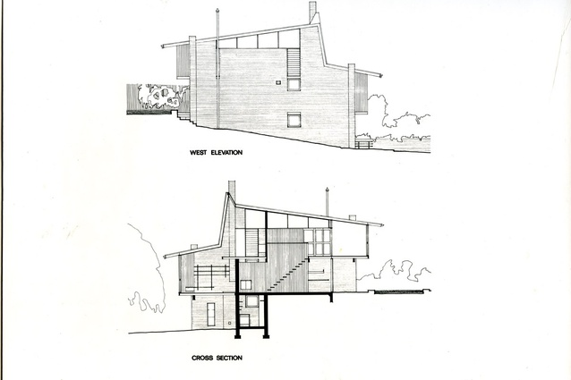 Drawings from circa 1969.