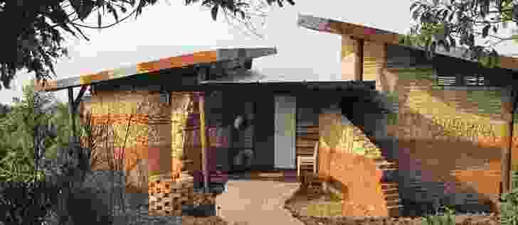 Entrance, Savannah Banda 2, Kyambura Game Lodge, Uganda.