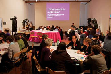 Vibrant City Forum participants discuss the future of Adelaide.