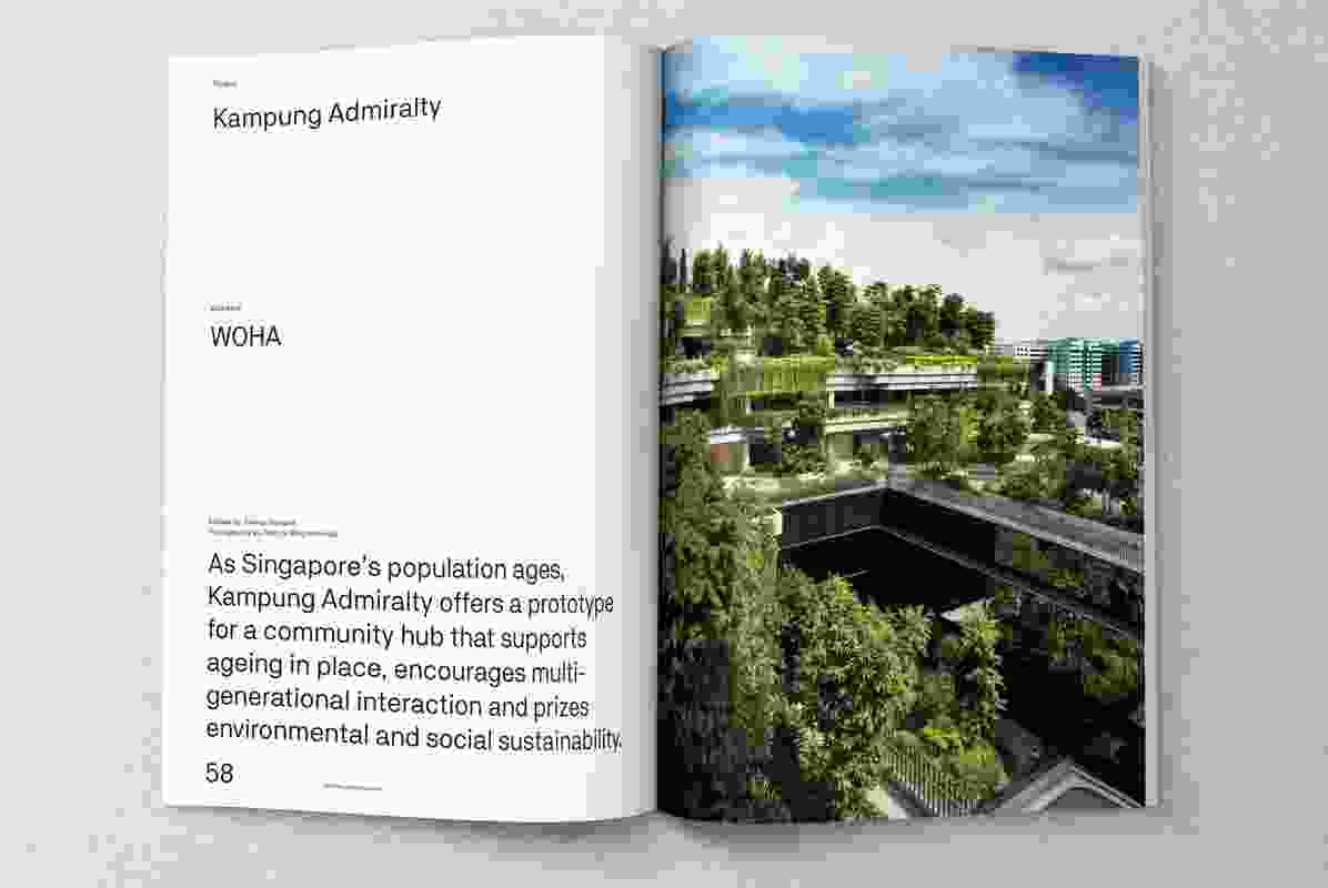 Kampung Admiralty by WOHA.