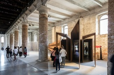 John Wardle Architects, Room 11 complete installations for Venice Biennale main exhibition
