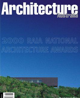 Architecture Australia, November 2000