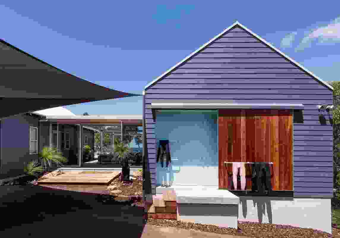 Eagle Bay House by Matthew Crawford ArchitectswithRosie Burton.