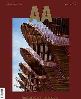 Architecture Australia, November 2018