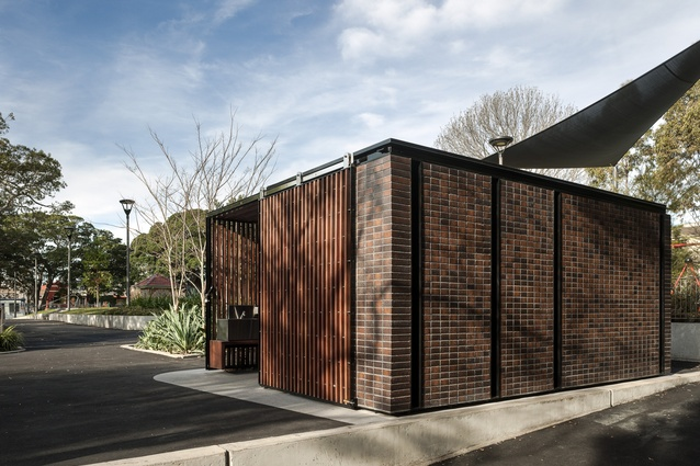 Foley Park Amenities (NSW) by Stanic Harding.