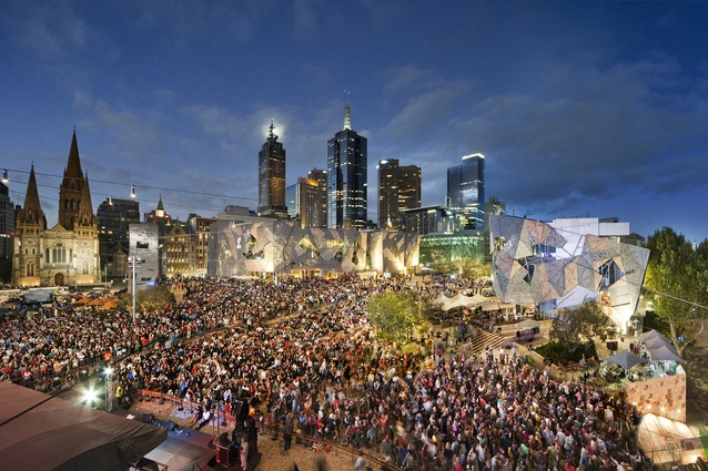 Melbourne's meeting point, Federation Square turns ten on 26 October 2012.