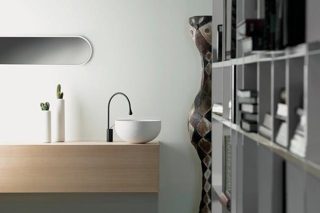 Goccia bathroom collection.