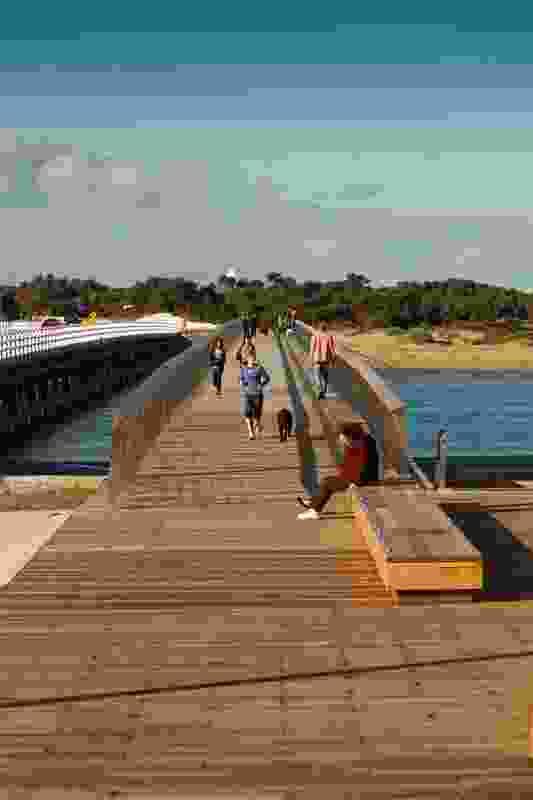 William Buckley Bridge, Barwon Heads by Peter Elliott Architecture & Urban Design.