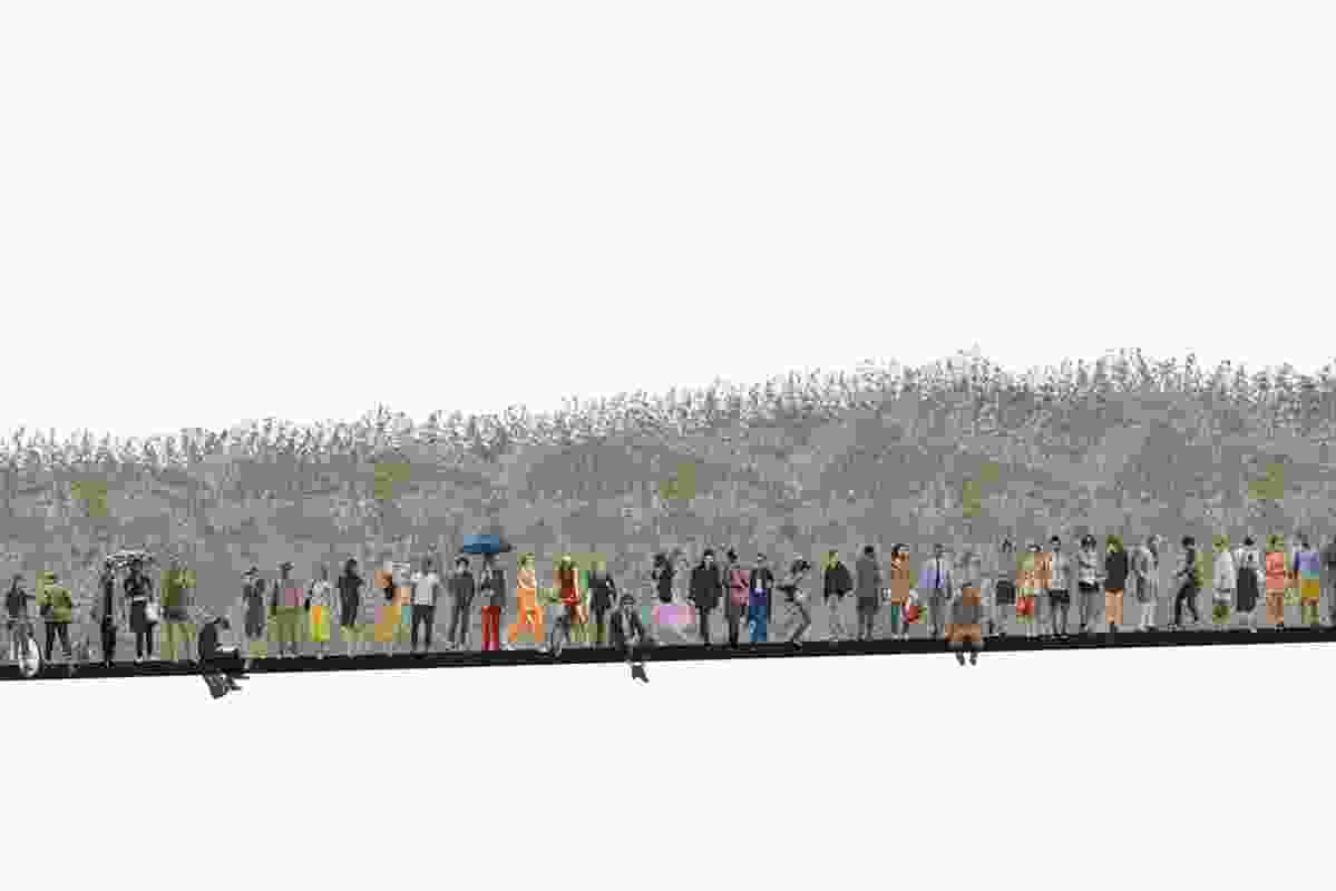 Zoe Lyons' winning concept focuses on Australia's forgotten landscapes.