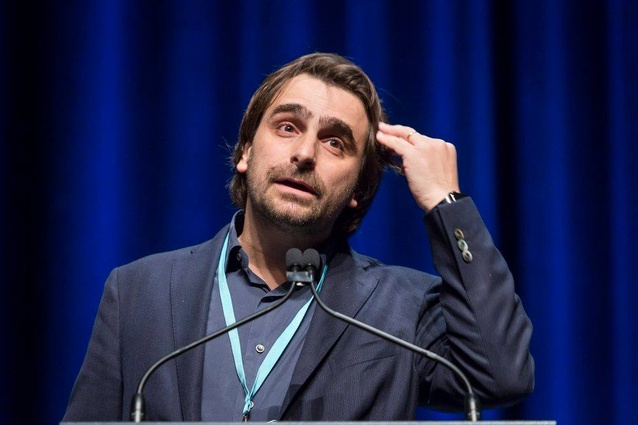 Borja Ferrater at the 2018 National Architecture Conference