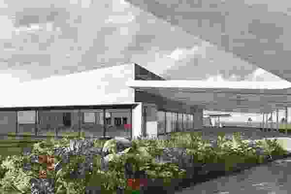 霍克斯伯里农业教育卓越中心由NBRS Architecture设计。