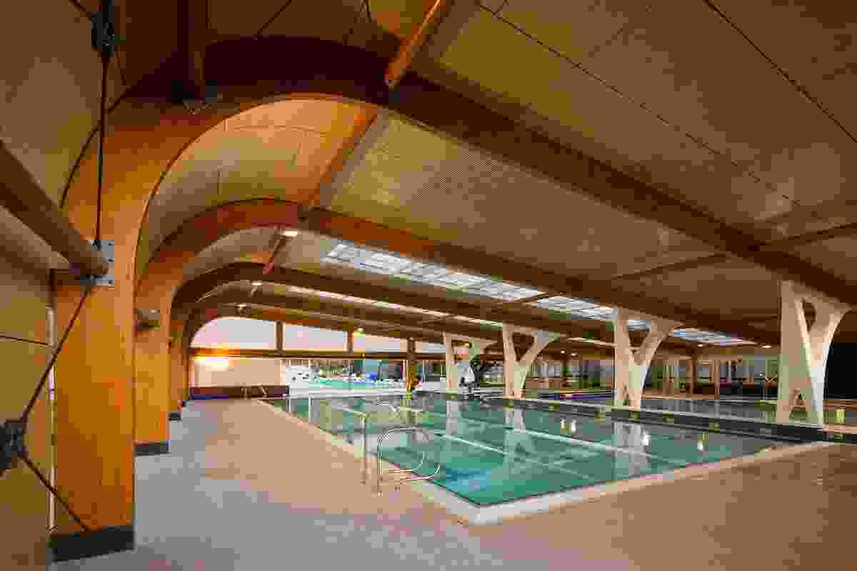 Bold Park Aquatic by Donovan Payne Architects.