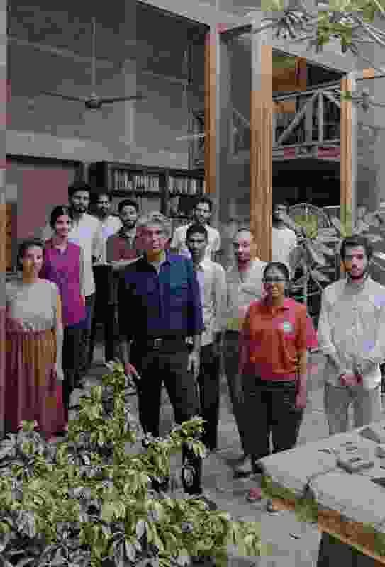 Bijoy Jain and the Studio Mumbai team.