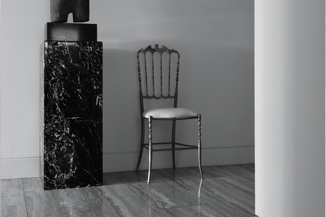 Cover detail from <i>Intimate: A Private World of Interiors</i> by David Hicks