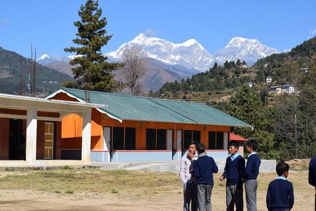Australians design lightweight schools for earthquake-stricken Nepal
