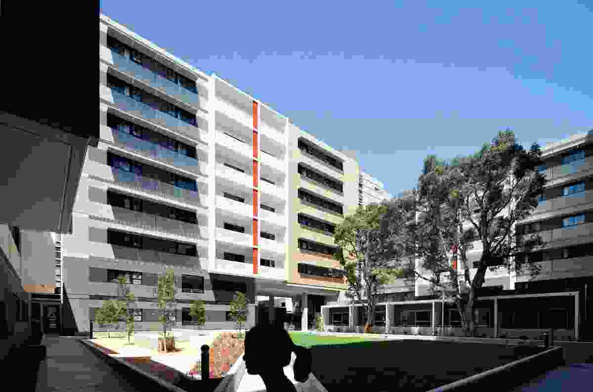 UNSW Student Housing by Lindsay and Kerry Clare (2009, as design directors of Architectus 2000–10).