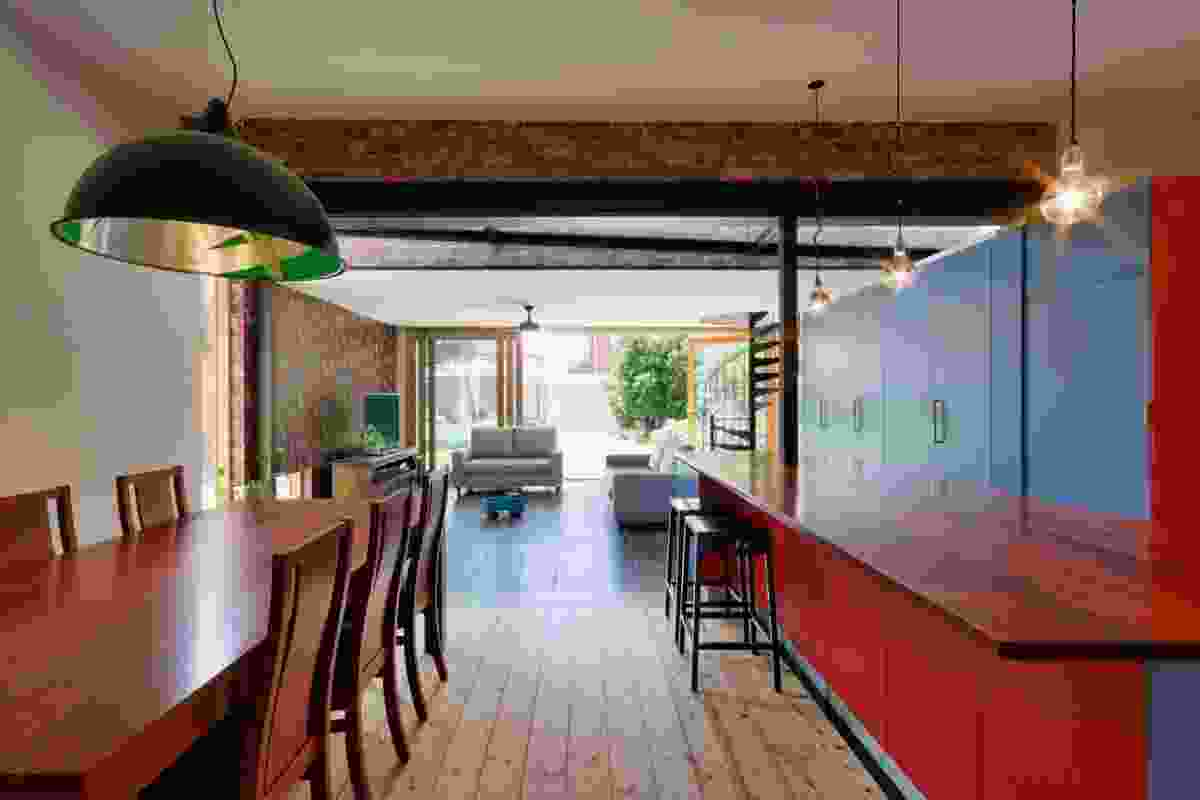 Sustainability – Ilma Grove House by Andrew Maynard Architects.