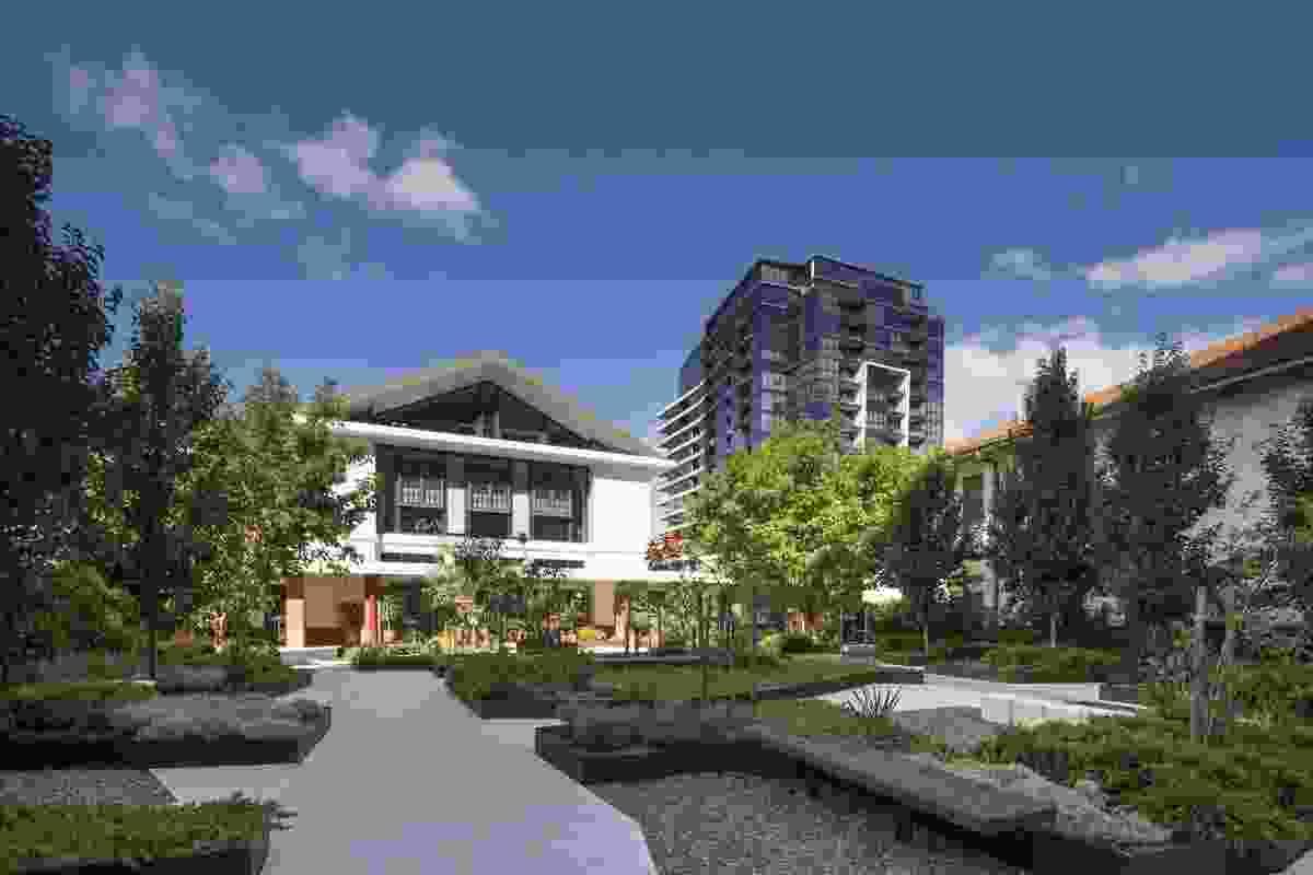 NewActon Pavilion Reconstruction by Fender Katsalidis Architects.