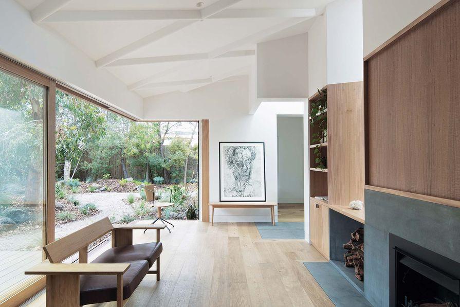 Brunswick House (2018) displays a degree of craftsmanship akin to furniture. Photograph: Benjamin Hosking.
