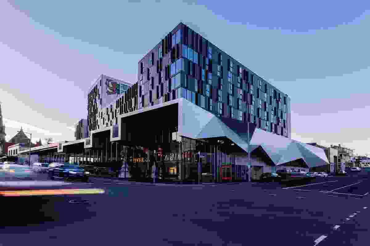 University of Tasmania City Apartments by Terroir and Fender Katsalidis, in association.