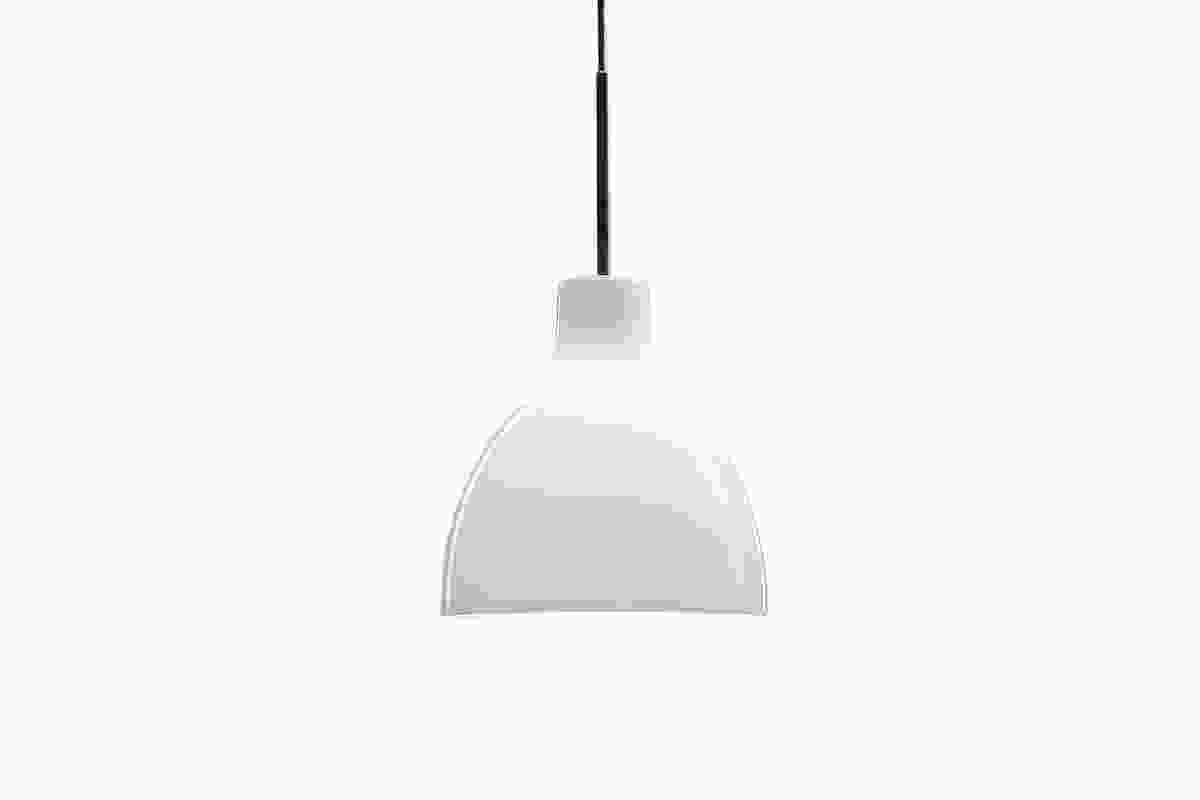The 2009 Toldbod 120 pendant by Louis Poulsen with mix and match coloured cords and pendants.