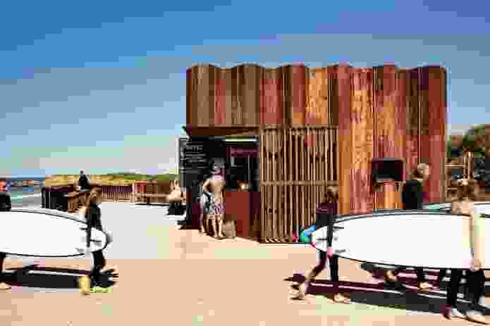 Third Wave Kiosk by Tony Hobba Architects.