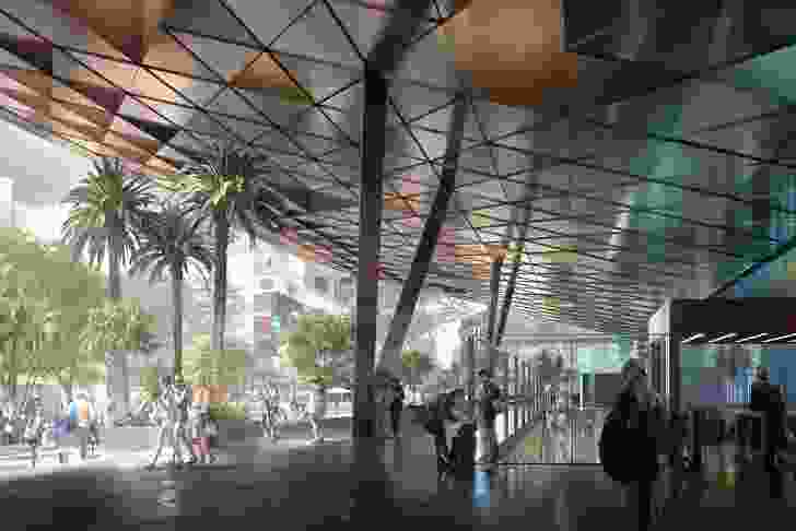 The Albert Street station development (also part of the Cross River Rail) will involve pedestrianizing Albert Street and will provide direct access to Brisbane's southern CBD.
