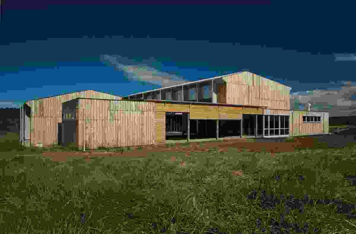 Tarremah Hall by Morrison & Breytenbach Architects.