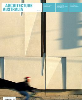 Architecture Australia, January 2008