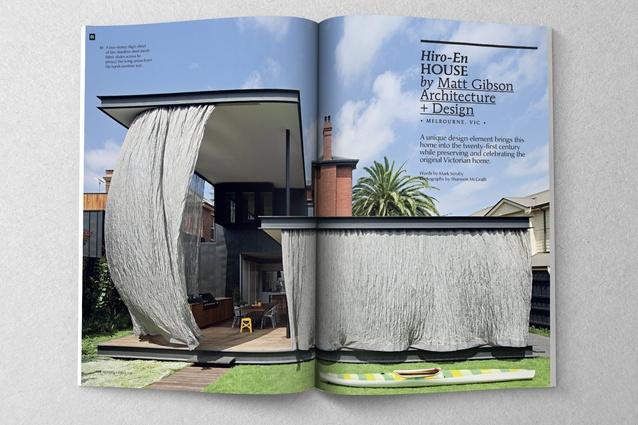 Hiro-En House by Matt Gibson Architecture + Design.