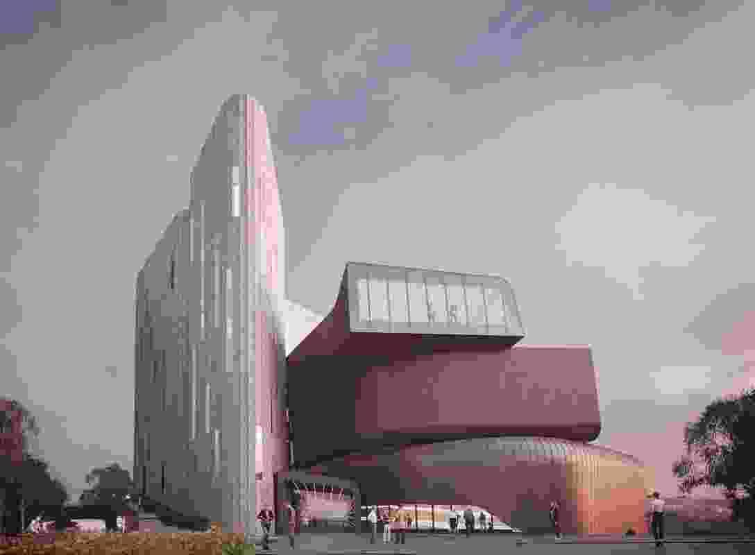 The proposed Deakin Law School by Woods Bagot.