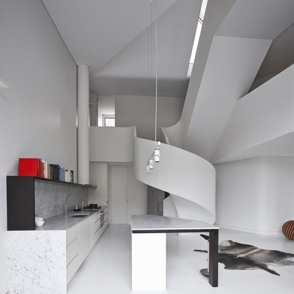 Loft Apartment West Melbourne By Adrian Amore Architects